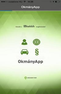 Okmányügyintézés mobil applikációval