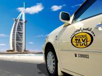 Shakelve jön a taxi Dubaiban