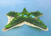 A világ első vízen úszó golfpályája a Maldív-szigeteken