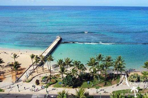 Hawaii, Aqua Park Shore Waikiki***
