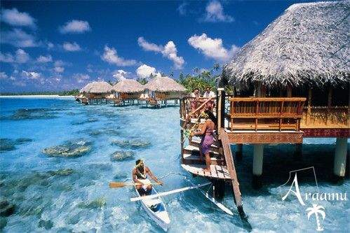 Bora Bora, Manihi Pearl Beach Resort****