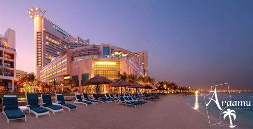 Dubai, Beach Rotana Hotel and Towers*****