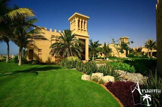 Dubai, Hilton Al Hamra Fort Hotel and Beach Resort*****
